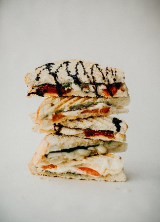 Seeds : We have a delectable selection of Panini's both savory and sweet!