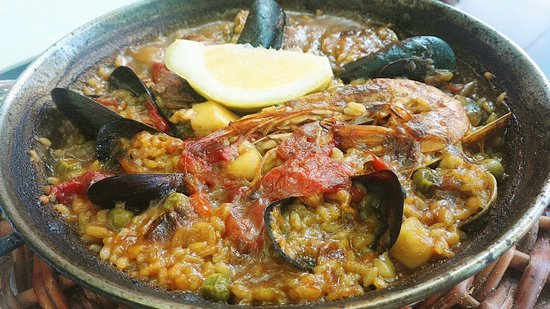 Restaurante Amar: Gran menú . . .