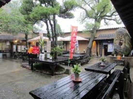 Hyotan Hot Springs: 湯上がりもゆっくりできます