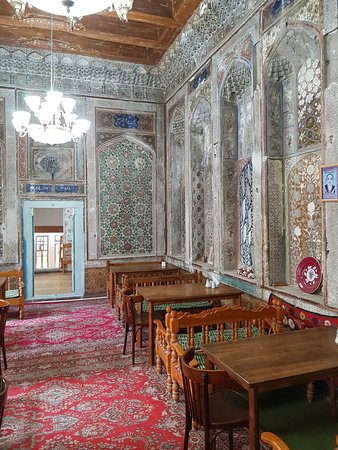 K. Komil Bukhara Boutique Hotel: the breakfast hall
