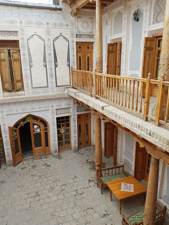 K. Komil Bukhara Boutique Hotel: the inner courtyard