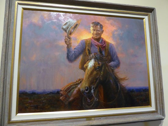 Will Rogers Memorial Museum: Painting