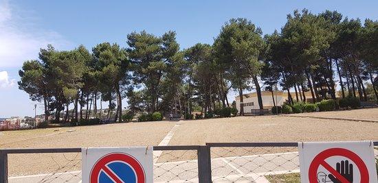 Parco del Castello: Ingresso centrale