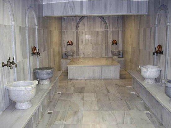 Ideal Pearl Hotel : Amazing Turkish bath.