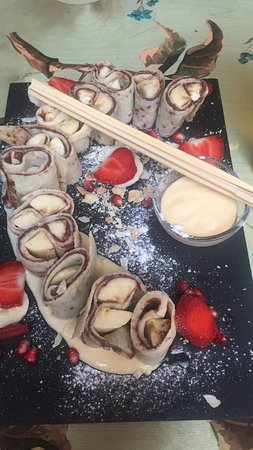 Blue Bird Cafe: Banana-Nutella-Vanilla-Maki