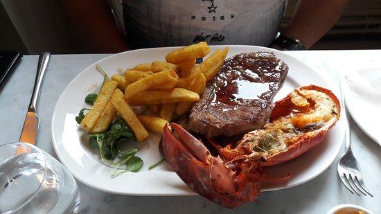 Loch Fyne - Bath: Lobster and steak