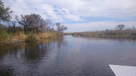 Namushasha River Lodge: Bootsafari Namushasha Lodge