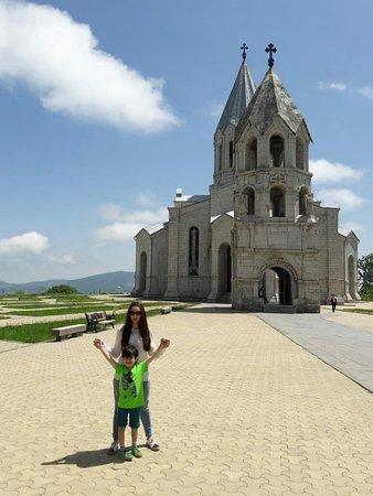 Shusha, Aserbajdsjan: Ghazanchetsots Cathedral