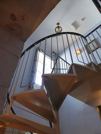 Kirkcolm, UK: Inside staircase.