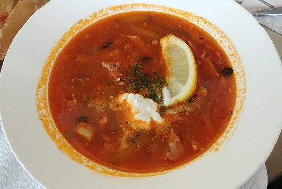 Fregat Restaurant: солянка