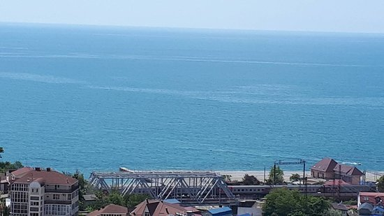 Dagomys Hotel: Море из окна номера