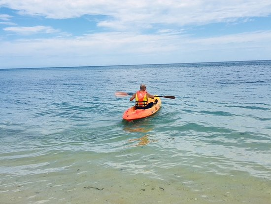 Memories Jibacoa: Exploring the reef in the kayak