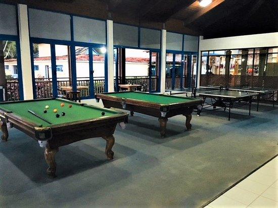 Memories Jibacoa: Pool Tables, Table Tennis, Darts And Computer Room.