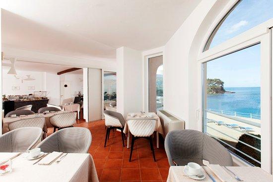 Hotel Villa Domizia: Sala colazioni