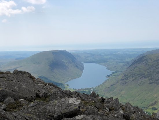 Great Gable: View from top of Wastwater