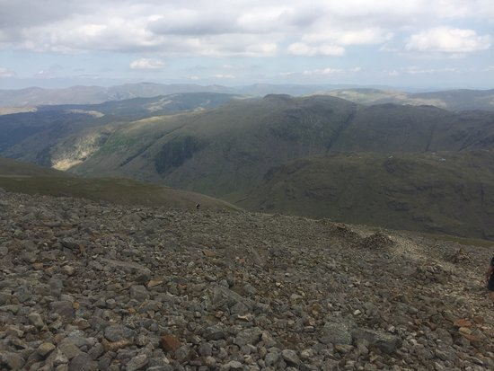 Great Gable: View to Langdale