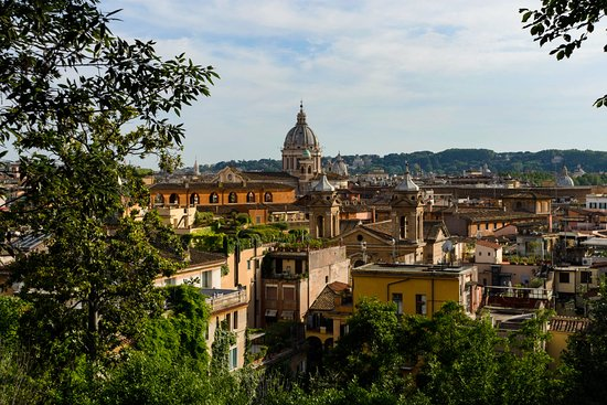One of the views on Rome