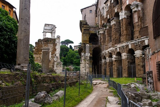 One of the many sites of old Rome