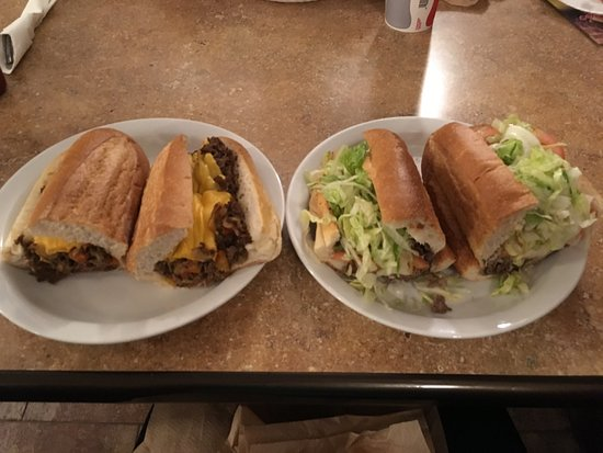 Westfield, NJ: Just as we remembered what a cheesesteak should take like......