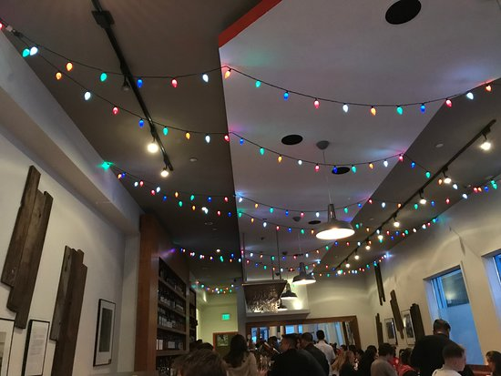 Interior of the Pasta Pop-Up in San Francisco.