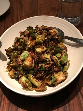 Brussel Chips at Pasta Pop-Up in San Francisco.