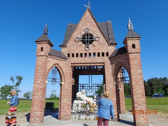 Sanktuarium Maryjne Gietrzwałdzkiej : Droga Krzyżowa