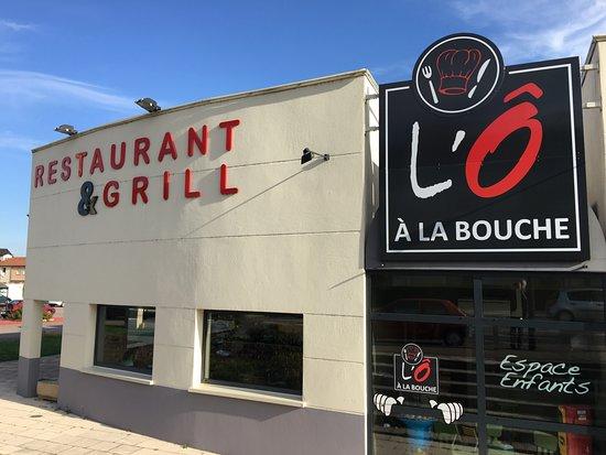 L'O A La Bouche: notre restaurant avec parking