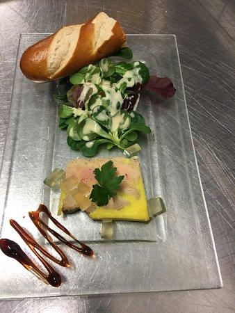 L'O A La Bouche: foie gras maison