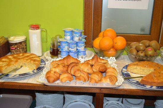 Hotel- Spa Verdemar: desayunos caseros