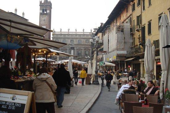 Centro Storico: Piazza and market