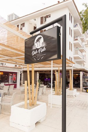 Dos Pins Grill Restaurant: Groups are welcome