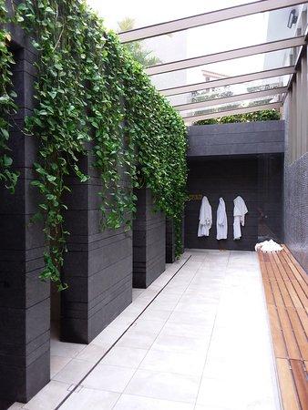 Jardines de Nivaria - Adrian Hoteles: Acces vers sauna et bain turc