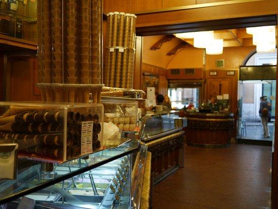 Giolitti: Inside the ice cream shop
