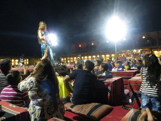 Dubai Desert Safari: Belly Dance at Base Camp of Desert Safari