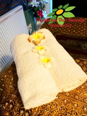 Traditional Thai Massage: Towels 2