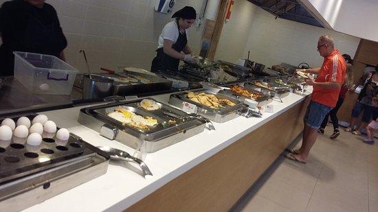Side Resort Hotel : На завтрак выбор небольшой,но яйца есть,разные.