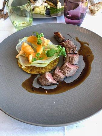 Restaurant Isabelle Auguy : Poitrine de canard