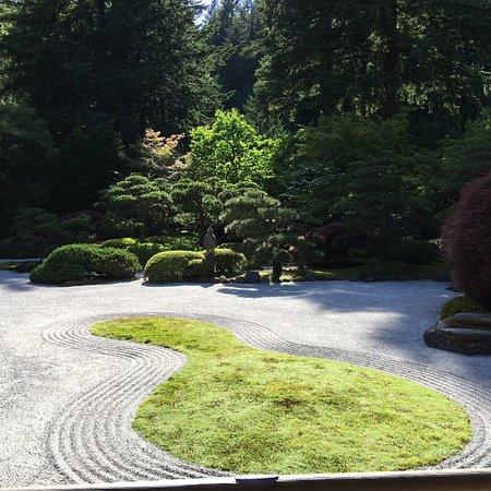 Portland Japanese Garden ภาพถ่าย
