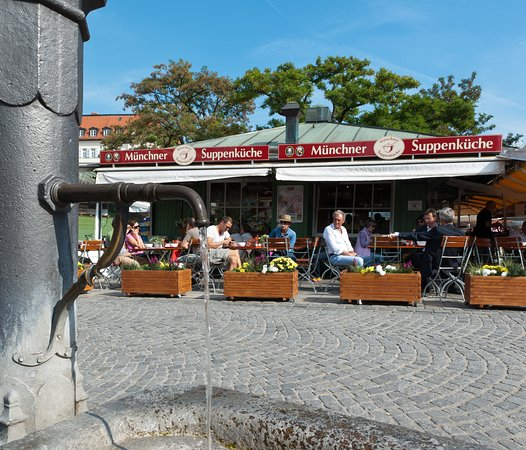 Well, that\'s good soup - Review of Muenchner Suppenkueche, Munich ...