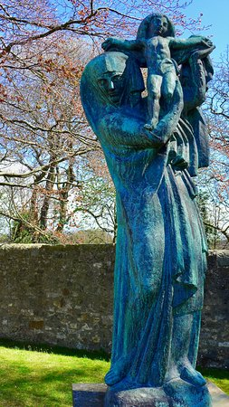 Scottish National Gallery of Modern Art Two: The Virgin Of Alsace by Emile-Antoine Bourdelle (1919-1921 Bronze)