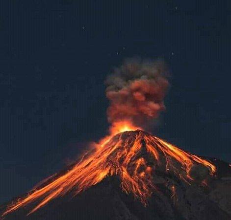San Jose, Guatemala: Volcan Acatenago