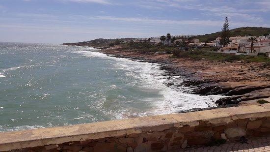 Praia da Luz: Zachodnia część Luz.
