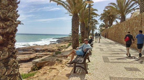 Praia da Luz: Promenada.