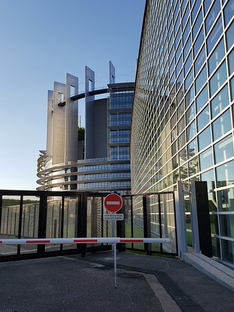 European Parliament Strasbourg: The closest I could get