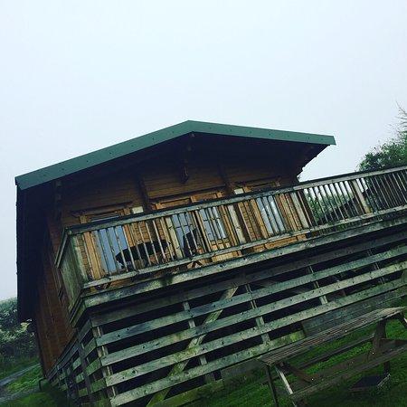 Springbank Farm Lodges: The cabin itself