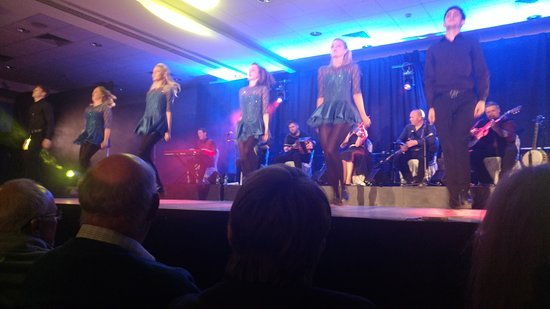 Celtic Steps The Show Killarney: the show from my seat, very intimate