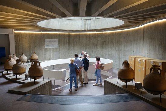 Gallo-Roman Museum: הכניסה