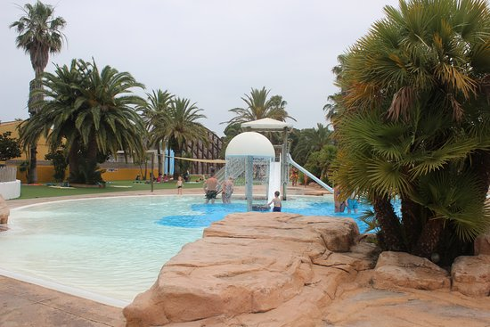 Camping La Sirene: Zona toboganes