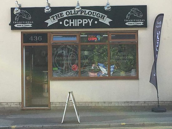 The Old Plough Chippy : Chippy front