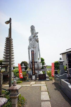 Maebashi Yakuyoke Taishi Rengein Temple: 大小、たくさんの仏像が建てられています